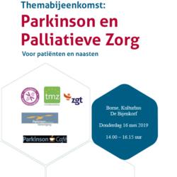 Uitnodiging themabijeenkomst: Parkinson en Palliatieve Zorg – BORNE
